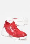 Czerwone Sneakersy Athizithe