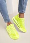 Limonkowe Sneakersy Gineros
