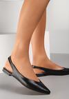 Czarne Sandały Coralis