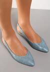 Niebieskie Sandały Coralis