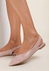 Różowe Sandały Coralis