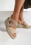 Beżowe Sandały Mesesis