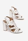Białe Sandały Eathelei