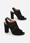 Czarne Sandały Nedarila