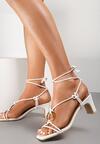 Białe Sandały Allurenna