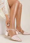 Różowe Sandały Kelalis