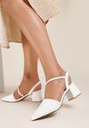 Białe Sandały Kelalis