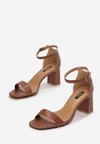 Brązowe Sandały Adomoni