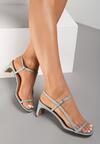 Niebieskie Sandały Merevien