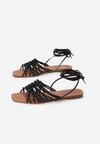 Czarne Sandały Sylidorise