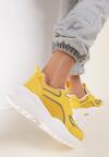 Żółte Sneakersy Rockmere