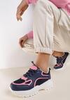 Granatowe Sneakersy Rockmere