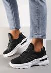 Czarne Sneakersy Doreania