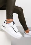 Biało-Czarne Sneakersy Sherith
