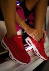Czerwone Sneakersy Avagune