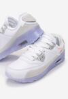 Biało-Liliowe Buty Sportowe Irinyxih