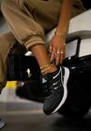Czarne Buty Sportowe Love Me Tender