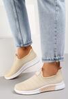 Beżowe Buty Sportowe Daemnessa