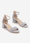 Niebieskie Sandały Arievia
