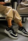Czarne Sneakersy Galile