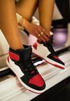 Czerwono-Czarne Sneakersy Asithera