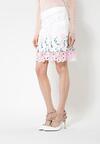 Biało-Różowa Spódnica Lavender