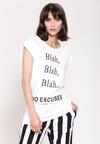Biała Bluzka Blah Blah