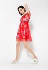 Czerwona Sukienka La La Land