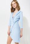 Niebieska Sukienka Born To Move