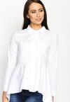 Biała Koszula Shirt Dress