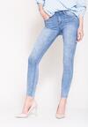 Niebieskie Jeansy Shiny Star