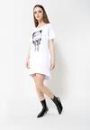 Biała Sukienka Fame Lover