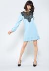 Niebieska Sukienka Apparent