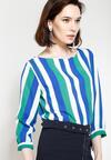 Niebiesko-Zielona Bluzka Acrobat