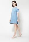 Niebieska Sukienka Rejoice