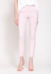 Różowe Spodnie Femininity