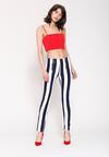 Granatowe Spodnie Mods