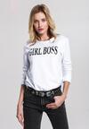 Biało-Czarna Bluza Girl Rule