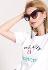Brązowe Okulary Bold Scarlet