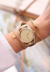 Ciemnobeżowy Zegarek Offprint