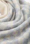 Niebiesko-Biały Szalik Symmetry