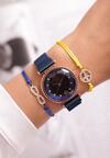 Niebieski Zegarek Menacing