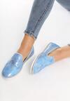 Niebieskie Slip On Victoria