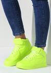 Limonkowe Buty Sportowe Laura