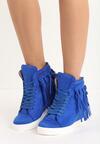 Kobaltowe Sneakersy Laverne