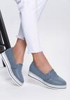Niebieskie Slip On Quintessential