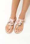 Różowe Sandały Blossom