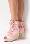 Różowe Sneakersy Ginseng