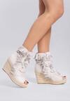Jasnoszare Sneakersy Ginseng