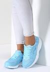 Jasnoniebieskie Buty Sportowe Flexible